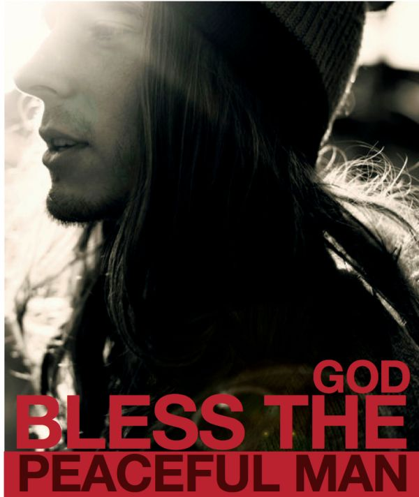 God Bless the Peaceful Man video